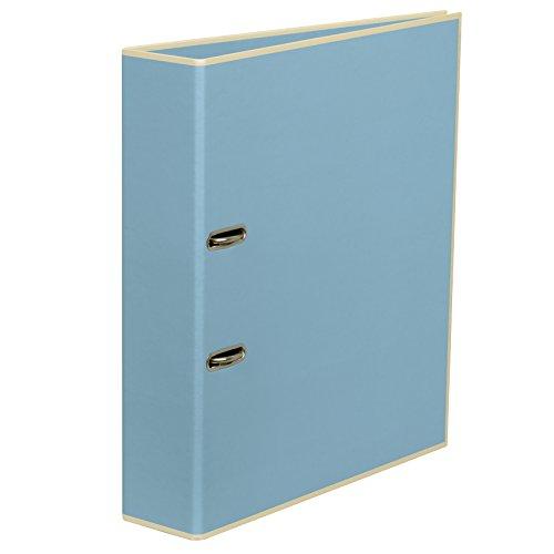 Ordner breit 7 cm ciel +++ Ordnungssystem für Büro und Zuhause +++ Semikolon Qualität