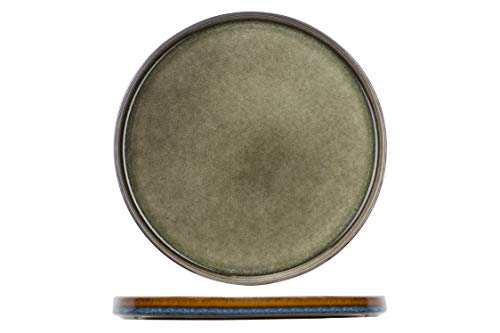Cosy&Trendy 3948028 Quintana Green Teller flach 27,5cm (1 Stück)