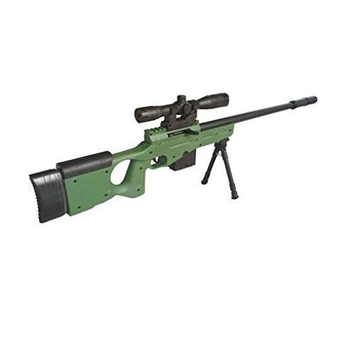 RUTVI ENTERPRISE 28 inches pubg AWM Sniper Rifle Toy Gun with Laser Target Big Size Army Toy Gun for Boys- Plastic,Multi Color(Pack of 1)