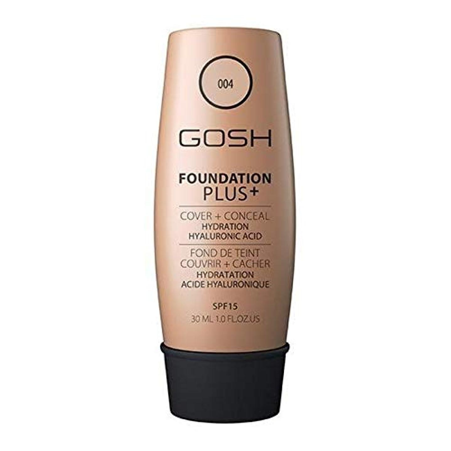 製品包囲タービン[GOSH ] おやっ基盤プラス+ナチュラル004 - Gosh Foundation Plus+ Natural 004 [並行輸入品]