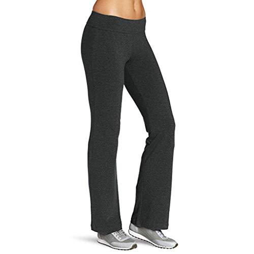 Sporthose Damen Lang Schwarz Frauen Enge Yoga Sporthosen Hüften High Waist Faden Hosen Schnelltrocknende Laufhose S,M,L,XL