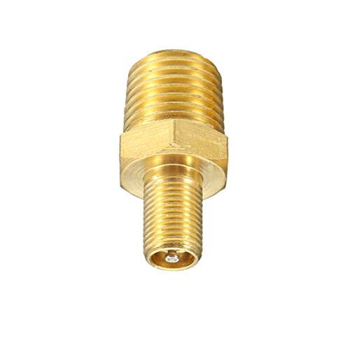"""Replacement Part for M.C 1/4"""" NPT MPT Brass Air Compressor Tank Fill Valve Schrader Tool"""