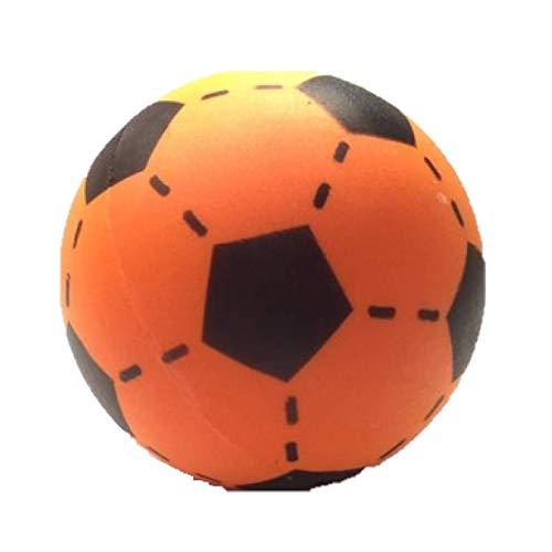 Planet Happy buitenspeelgoed Foam voetbal oranje 20 cm