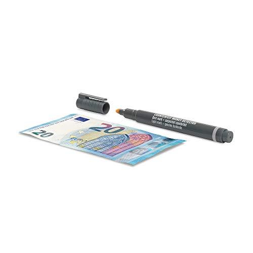 Safescan 111-0442 Falschgeld Stift Prüfstift, Box mit 10 Stück, grau
