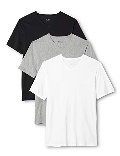 BOSS Herren VN 3P CO T-Shirts, Mehrfarbig (Miscellaneous 999), M (3er Pack)