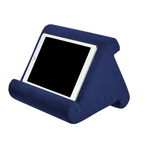 Mya Multi-Angle Cushion for Tablets, Soft Pillow for Tablets, Smart Phones, Digital Book Readers, Books and Magazines royal blue