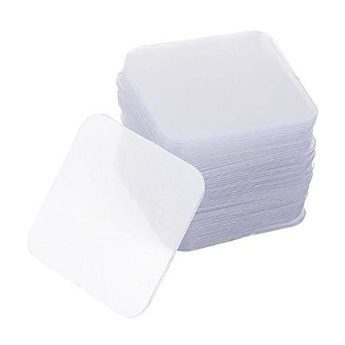 JNML Leistungsstarkes, doppelseitiges Klebeband, Nano, nahtlos, kein Stanzen, transparent, für Haushalt, Auto, wasserdicht, 10 Stück