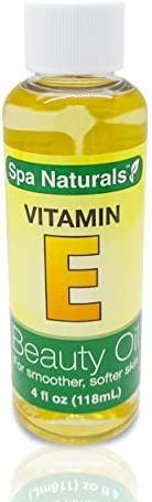 Spa Naturals Vitamin E Oil For Your Face Skin Helps Reduce Wrinkles Fine Lines for Younger Skin product image