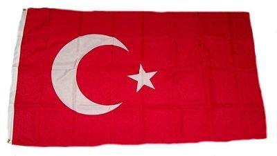 Flagge Fahne Türkei 150 x 250 cm FLAGGENMAE® by FLAGGENMAE®