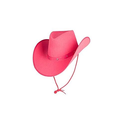 Wicked Costumes Texanischer Cowboyhut für Erwachsene, Hot Pink