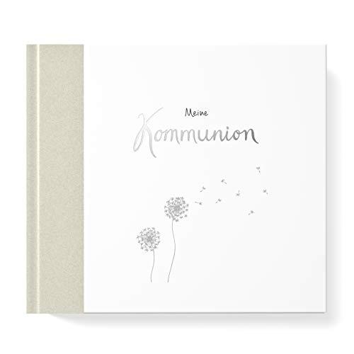 Gästebuch Meine Kommunion I Kommunionsbuch, Kommunionsgeschenk, Erinnerungsbuch I 96 Innenseiten