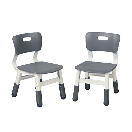 ECR4Kids Adjustable Classroom Chairs, Plastic Indoor Kids Seating for Schools, Daycares, Homes, Playrooms, Children