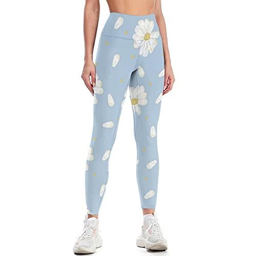 QTJY Pantalones de Yoga con Levantamiento de Cadera de Cintura Alta para Mujer, Pantalones de Ejercicio Push-up para Gimnasio, Leggings para Celulitis elásticos, Pantalones para Correr K S