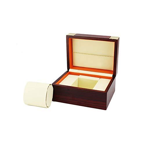 F-HOME Caja de Reloj Exquisito Elegante Caja de Regalo Durable Robusto Único Joyas Almacenamiento Mostrar Caja de Reloj (Color : A)
