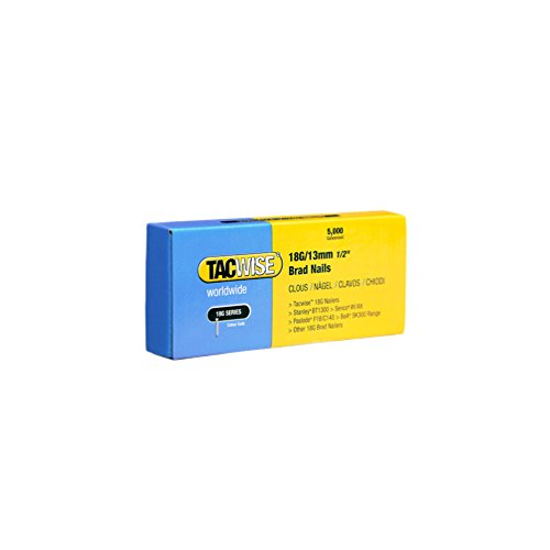 Tacwise 0393 Clavos brad 18 g/13 mm, Set de 5000 Piezas
