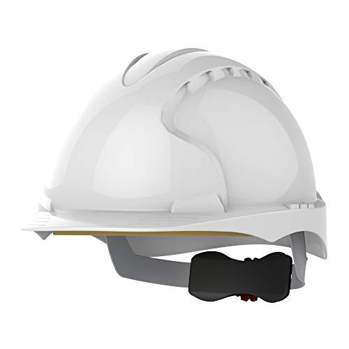 JSP aje170-000-100EVO3revolución rueda trinquete casco, color blanco