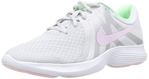NIKE Jungen Nike Revolution 4 (Gs) Laufschuhe, Mehrfarbig (Pure Platinum/Pink Foam/Platinum Tint 006), 37.5 EU