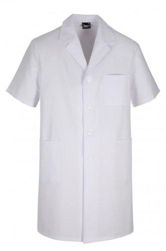 Ortotex QVM-00035/XXL sanitaire jas voor heren, korte mouwen, maat XXL.