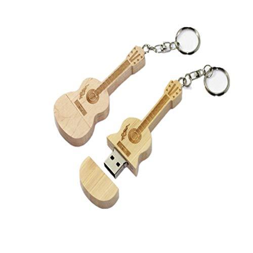 Mobestech Chiavetta USB in Legno a Forma di Violino 8 Gb Memory Stick U Pen Drive Usb Flash Drive (Colore Misto)