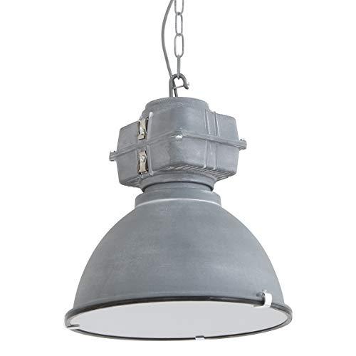 Mexlite Densi Lámpara de techo Gris 38 cm de ancho Regulable