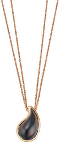 ESPRIT Damen-Halskette Edelstahl drip Drop Ca. 42 + 3 cm ESNL11820D420