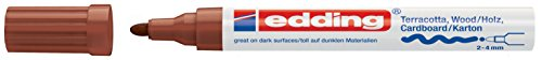 edding Mattlack-Marker edding 4000 creative, 2-4 mm, braun