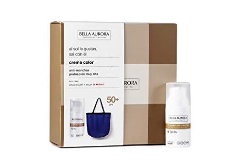 BELLA AURORA CC cream tono claro + bolsa de playa 300 gr, beige