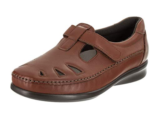 SAS Roamer Women's Slip On 11 B(M) US Chestnut