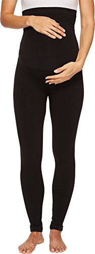 SPANX Mama Look at Me Now Seamless Leggings Very Black XS