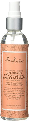 Shea Moisture Coconut & Hibiscus On-The-Go Conditioning Hair Fragrance Laque