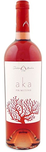 Produttori Vini Manduria Vino Aka Primitivo Rosato - 1 Bottiglia da 750 Ml