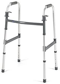 INVACARE CORPORATION I-Class Dual-Release Lightweight Folding Walker -ADULT QTY: 1