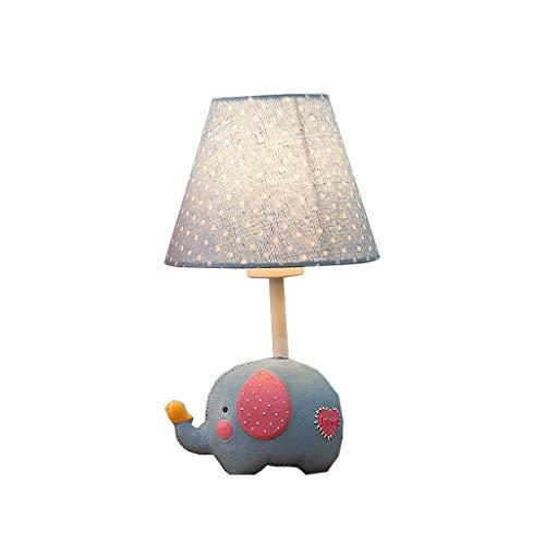 Lámpara de mesa de noche Lámpara de mesa moderna y creativa Estudio de oficina Dormitorio Regulable Lámpara de sobremesa simple Lámpara de mesa de estudiante Lámparas de noche (Color : A)