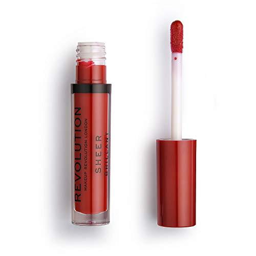 Makeup Revolution Revolution Ruby 134 Lèvres transparentes.