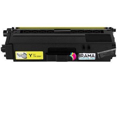 Bramacartuchos - Cartucho compatible Non oem para reemplazar Brother Tn336 Amarillo de ,DCP L8400CDN, DCP L8400, DCP L8450CDW, DCP L8450, HL L8250, HL L8350CDW, HL L8350, HL L8250CDN, MFC L8650CDW, MFC L8650 MFC L8850CDW, MFC L8850, ALTA CAPAICDAD