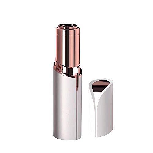 Rasoir électrique Indolore Pour épilateur De Visage Féminin Pour Rasoir Féminin, Mini Tondeuse à épilateur à Batterie étanche à LED Intégrée