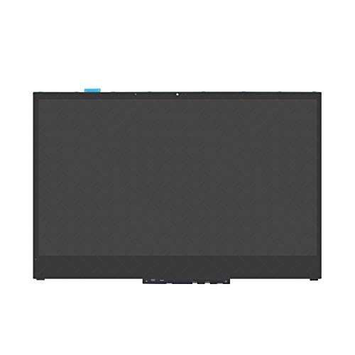 LCDOLED Replacement 15.6 inches FHD 1080P IPS 30 Pins LCD Display Touch Screen Digitizer Assembly Bezel with Board for Lenovo Yoga 730-15IWL 81JS005BUS 81JS005CUS 81JS0086US 81JS0087US 81JS0088US