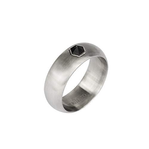 Morellato Anello da uomo, Collezione Vela, in acciaio, cristalli - SAHC19023