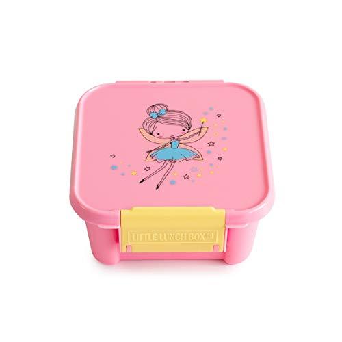 Little Lunch Box Co. Mini Snackbox für Kinder mit Unterteilungen | Bento Box | Brotdose (Fairy)