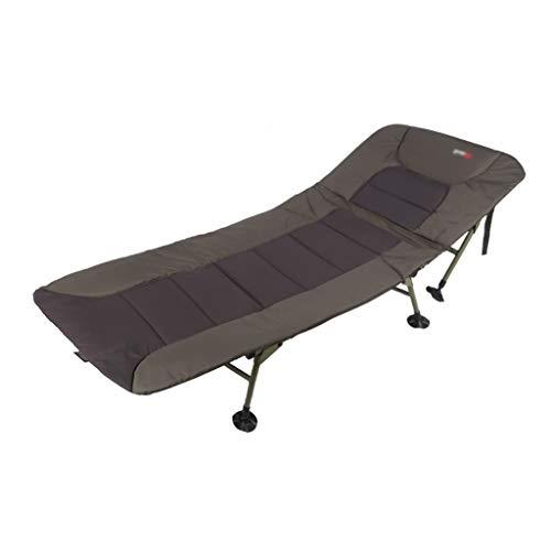 DUOER-Klappstühle Outdoor Portable Angeln Bett Stuhl Bedchair Camping Heavy Duty 6 Bein Verstellbare Beine, für Karpfenangeln Oder Camping Schlaf (Color : C)