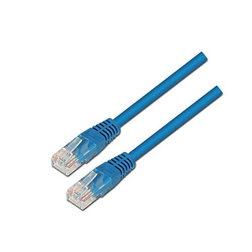 AISENS A133-0192 - netwerkkabel (2 m, opnemen U/UTP (UTP), RJ-45, blauw)