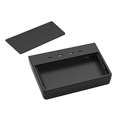 DONEMORE7 5 puertos en 1 Tesl-a Modelo 3 Modelo Y USB Hub, Dashcam y Sentrys Mode Viewer USB para Tesla Model Y y Model 3, diseñado a medida para Tesl-a Model 3 Model Y 2020 June Produce