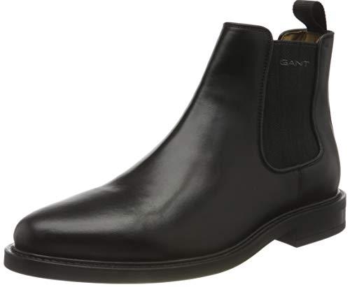 GANT FOOTWEAR Herren ST Akron Chelsea-Stiefel, Black, 43 EU