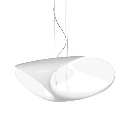 Kundalini Clover Lampada a sospensione a LED, bianco, 2700 K, 2600 lm, CRI80, H 70 cm, Ø 25 cm