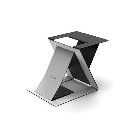 MOFT 新商品 ノートパソコンスタンド PCスタンド PCケース キャリーケース スタンディングデスク 角度調整 スタンディングデスク 軽量 MacBook デスク 薄型 軽量 (スタンディングデスク, Gray)