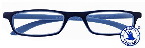 I NEED YOU Lesebrille Zipper Selection SPH: 2,00 Farbe: blau, 1 Stück