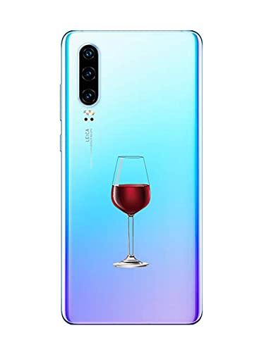 Suhctup Motivo Linda Funda Transparente Compatible con Xiaomi Redmi 6A,Ultrafina Suave Silicona TPU Antigolpes Caso con Patrón Diseño Transparente Anti-caída Escudo Protector