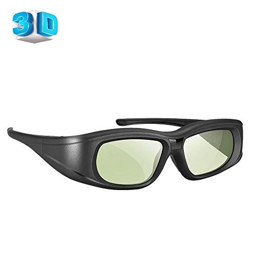 Elikliv 3D Gafas Recargable Azul Bluetooth 3D Obturador Activo Gafas Compatible Con Epson sony Proyector / sony Panasonic Samsung 3D Activo TV