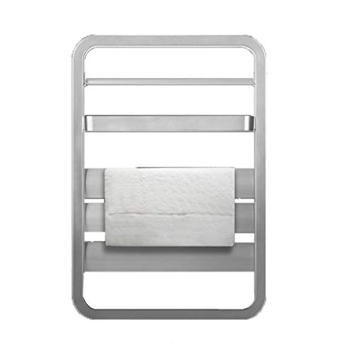 ZZXUAN Toallero Eléctrico 55w Gris Blanco. Función Temporizador. Bajo Consumo  IPX4 Impermeable...