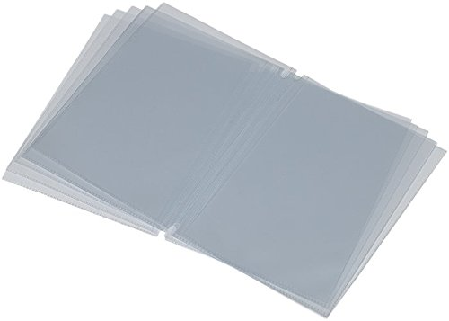 Securit Doppio Inserto - Busta -Tasca - Trasparente A4 - Per Porta Menu